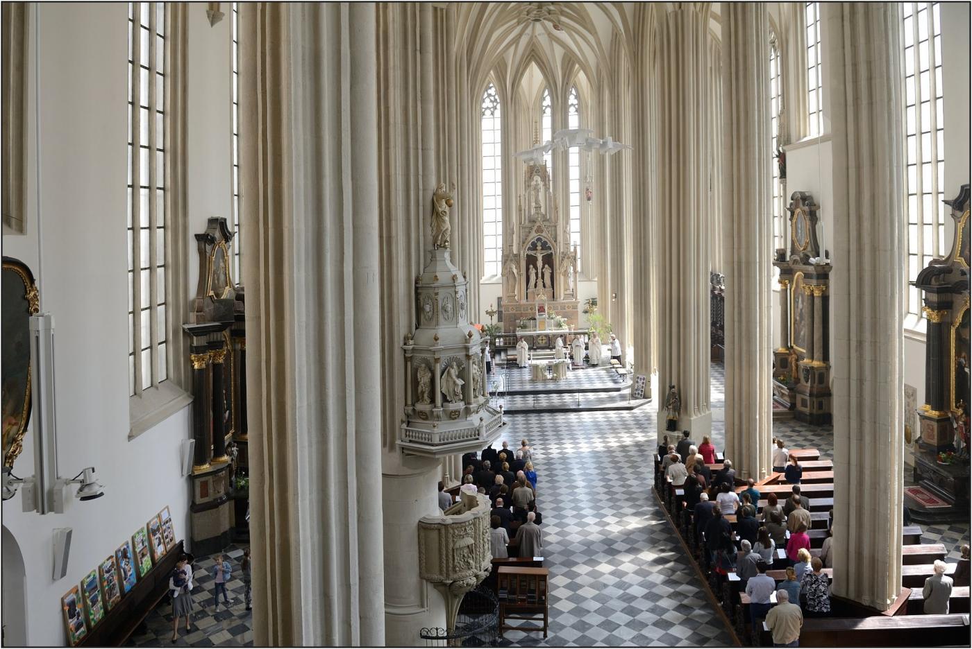 Bohoslužba smíření v kostele sv. Jakuba v Brně
