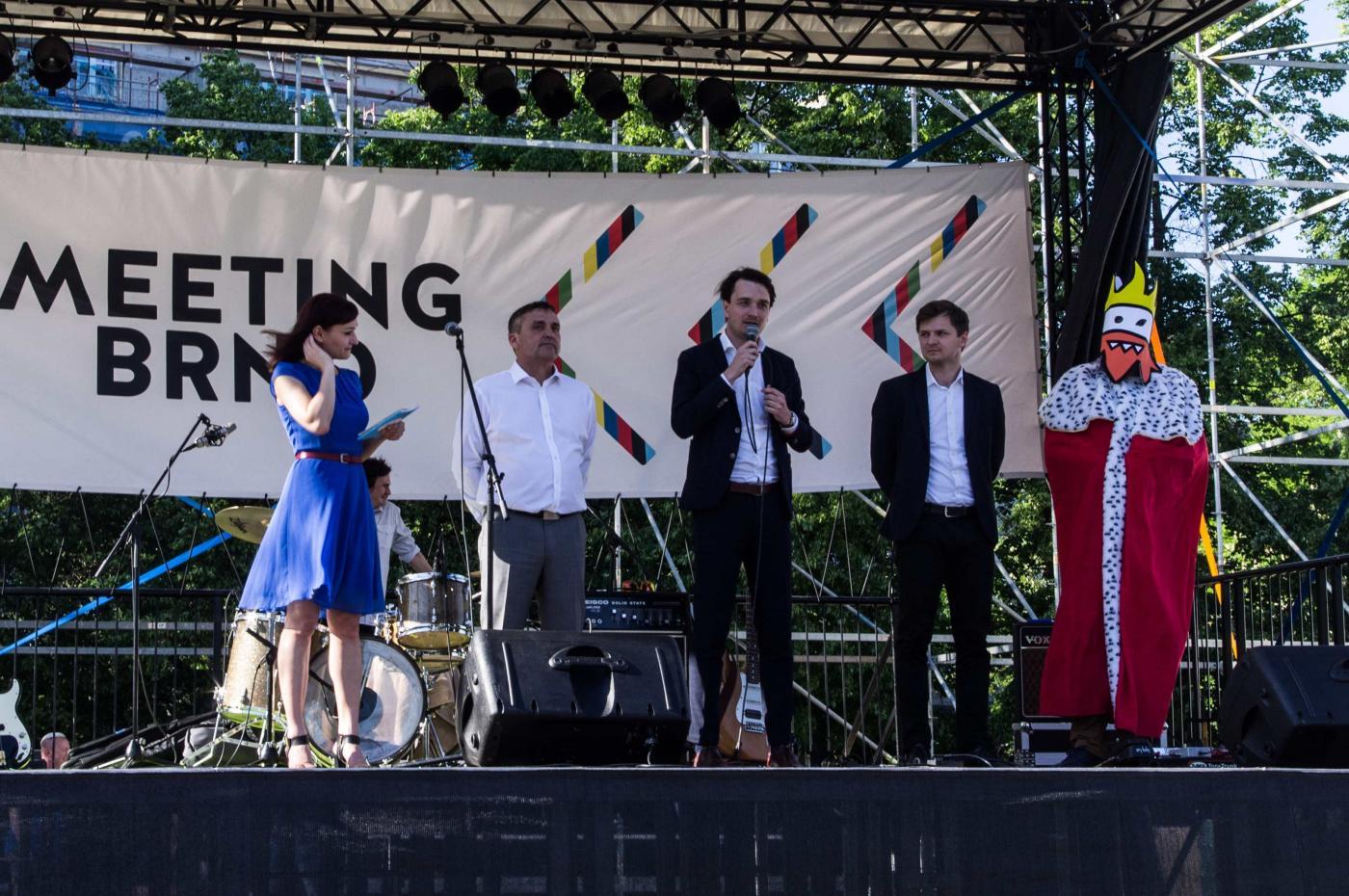 Zahájení festivalu Meeting Brno