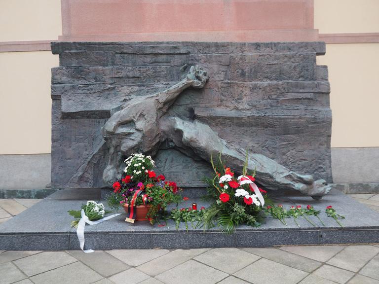 Uctění památky obětí II. světové války