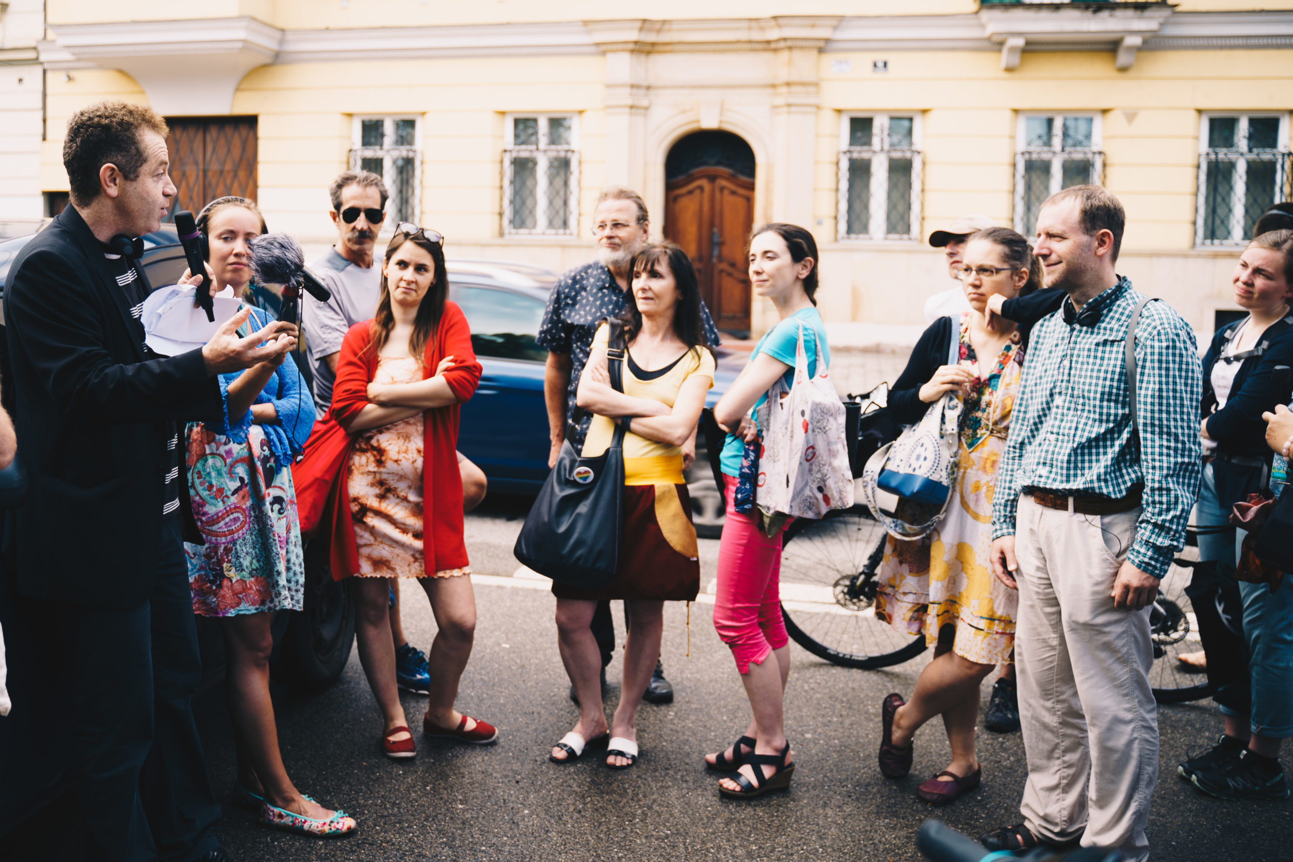 Otevření stezky po stopách rodiny Löw-Beer s koncertem ve vile Tugendhat