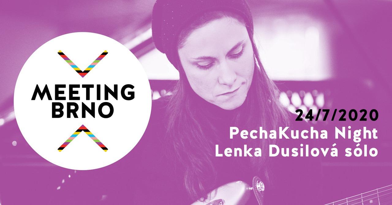 """PechaKucha Night """"Brünn baut die alte Stadt"""" und Solo-Konzert mit Lenka Dusilová"""
